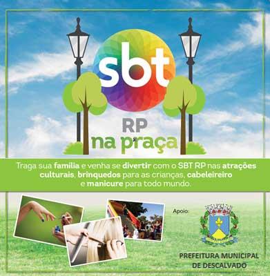 Descalvado recebe Festa SBT na Praça no dia 14 de julho