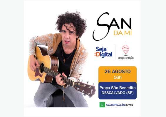 Foto: 'San da Mí' se apresentará em Descalvado no próximo dia 26 de agosto