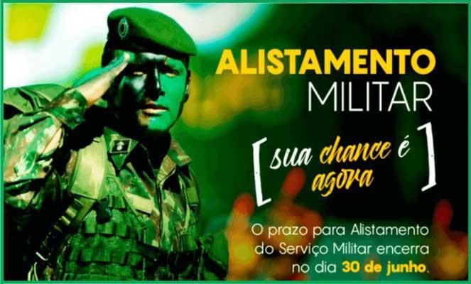 Foto: Alistamento Militar começa a partir de 11 de janeiro