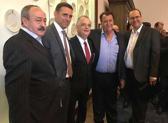 Foto: Becão se reúne com Márcio França, Vice Governador de SP, e solicita meio milhão de reais para recapeamento de ruas