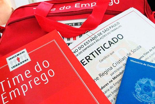 Foto: Inscrições para novas turmas do 'Time do emprego' começam no dia 19 de março