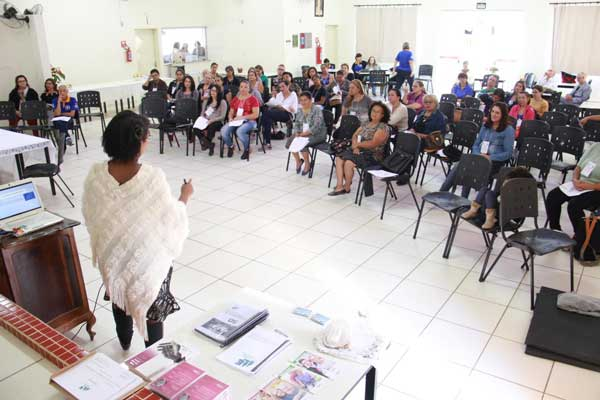 Foto: Abertura da segunda edição do 'Curso de Cuidadores de Idosos' aconteceu no último dia 4