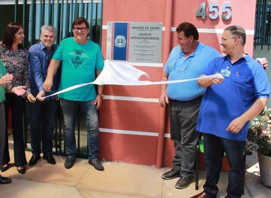 Administração Becão e Luiz Carlos inaugura nova unidade da Secretaria de Saúde