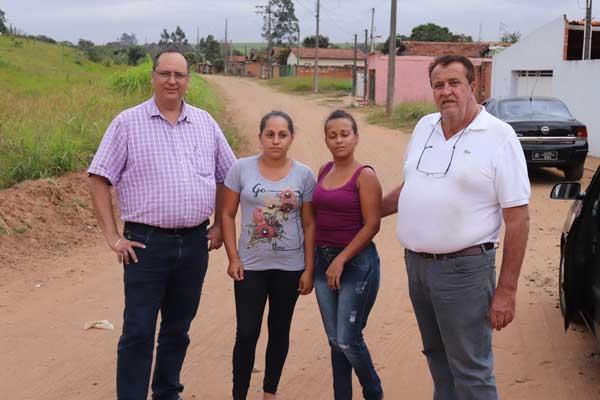 Após determinação de Becão e Luiz Carlos, regularização fundiária da Chácara Pantanal está próxima de ser concluída