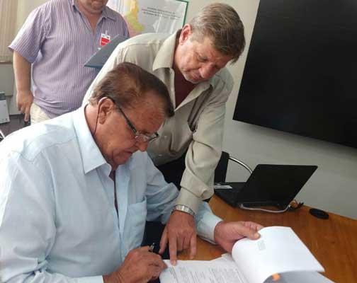 Prefeito consegue novos recursos junto a Fehidro para melhorias no sistema de abastecimento de água
