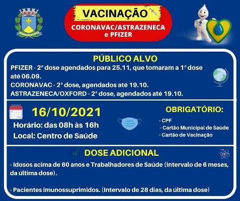 Foto: Vacinação contra a Covid-19